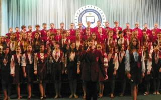 Мистецький звіт Української гімназії порадував талантами!