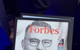 Випускник «Української гімназії №1» Вадим Мельник потрапив на сторінки журналу Forbes