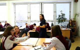 семикласники змогли випробувати себе у ролі вчителів